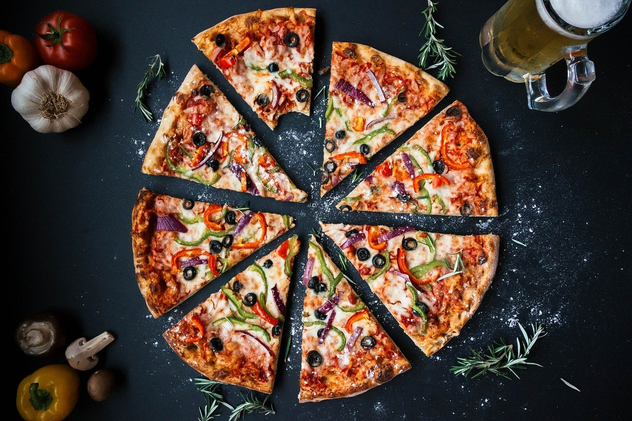 Pizzastein für Gasofen Pizza schmackhaft